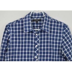 Banana Republic Medium Cotton Plaid Button Shirt